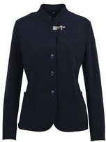 Fay Women's Blue Cotton Blazer.