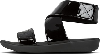 FitFlop Carin Patent Back-Strap Sandals