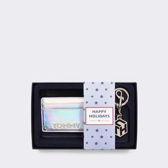 Tommy Hilfiger Gift Set: Card Holder And Keychain