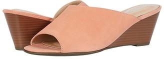 Rockport Total Motion Taylor Asym Slide (Coral Haze) Women's Shoes