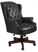 Office Chairs Canada Traditional Leather Chair (Black)