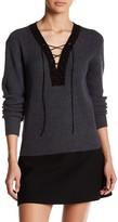 Tart Amity Lace-Up Wool Sweater