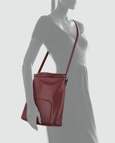 The Row Leather Crossbody Bag, Plum