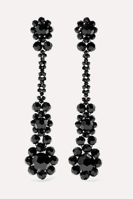 Simone Rocha Victorian Bead Earrings - Black
