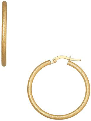 Saks Fifth Avenue Made In Italy 14K Yellow Gold Tube Earrings, 0.98in