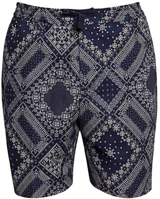 Officine Generale Phil Bandana-Print Shorts