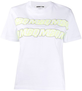 McQ embroidered logo T-shirt