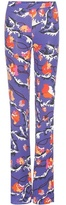 Emilio Pucci Printed jersey trousers