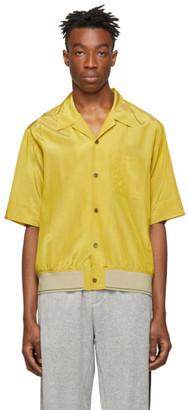 3.1 Phillip Lim Yellow Ribbed-Hem Souvenir Shirt