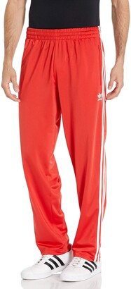 adidas Men's Firebird Track Pants Suit Lush Red M