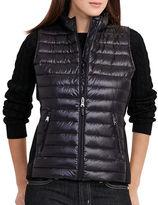 Lauren Ralph Lauren Quilted Mocknet Vest