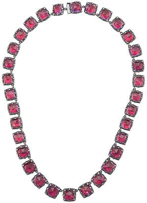 Larkspur & Hawk Bella Graduated Scarlet necklace
