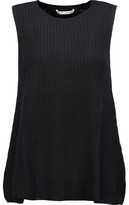 Autumn Cashmere Ribbed Cashmere Top