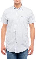 English Laundry Printed Patch Pocket Short Sleeve Shirt