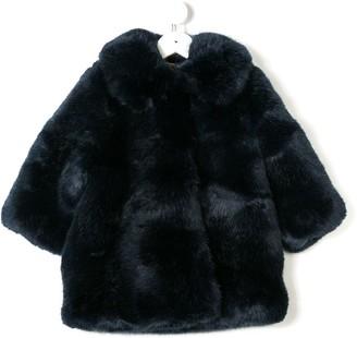 Hucklebones London Faux Fur Coat