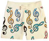 Mini Rodini Music Organic Cotton Sweat Shorts