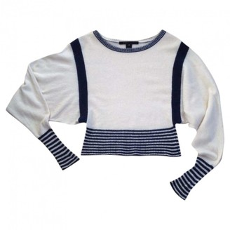Marc Jacobs White Cashmere Knitwear for Women
