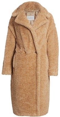 Max Mara Park Lurex Teddy Coat