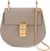Chloé 'Drew' shoulder bag - women - Lamb Skin/Suede/metal - One Size