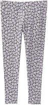 Joe Fresh Kid Girls' Print Stretch Legging, Pale Purple (Size XL)