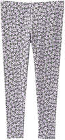 Joe Fresh Kid Girls' Print Yoga Pant, Pale Purple (Size XL)