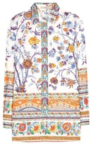 Etro Floral-printed Cotton Shirt