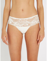 Simone Perele Promesse lace and tulle shorty briefs