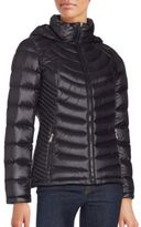 Calvin Klein Ribbed Down Jacket