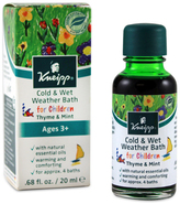Kneipp Cold and Wet Weather Oil for Children