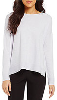 Eileen Fisher Cashmere Round Neck Long Sleeve Sweater