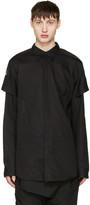 Julius Black Arm Bands Shirt