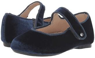 Old Soles Velvey Jane (Toddler/Little Kid) (Midnight) Girl's Shoes