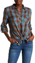 KUT from the Kloth Hailey Plaid Button Down Shirt