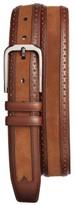 Mezlan Men's Fuju Suede & Leather Belt