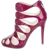 Christian Louboutin Circus Cutout Ankle Boots