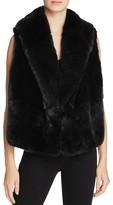 McQ by Alexander McQueen Hybrid Faux Fur Vest