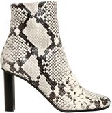 Joseph 90mm Embossed Leather Ankle Boots