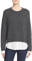 Brochu Walker Women's 'Looker' High/low Layered Crewneck Sweater