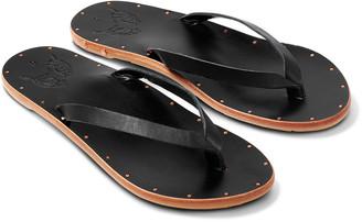 beek Seabird Leather Flip Flop