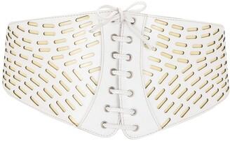 Alaïa Pre-Owned Thick Lace-Up Belt
