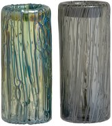 Benzara 2 Assorted Accustomed Styled Fancy Glass Vase