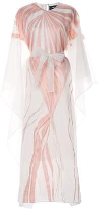 Taller Marmo Art Nouveau kaftan dress