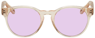 Chloé Pink Round Sunglasses