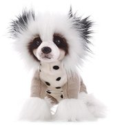 DEMDACO Chinese Crested Dog Plush Toy, Large by Demdaco