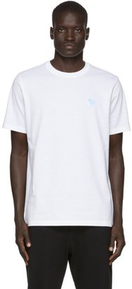 Paul Smith White Zebra Scribble T-Shirt