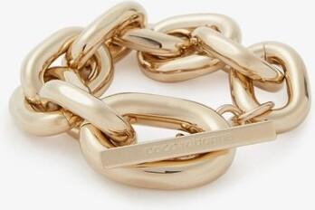 Paco Rabanne Oversized Chain-link Bracelet - Gold
