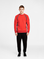 DKNY Sweat Top With Logo Stripe