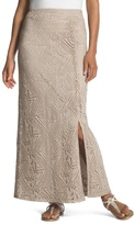 Chico's Hayden Crocheted Maxi Skirt