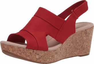 Clarks Women's Annadel Ivory Platform & Wedge Sandals