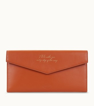 Tod's Document Holder Pouch in Leather